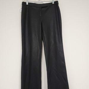 Express black shiny clubbing/dress pants sz.7/8
